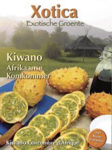 Kiwano of Hoornmeloen (Afrikaanse komkommer)