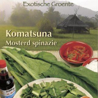 Komatsuna of Mosterdspinazie