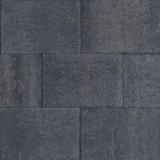 Terras-steen 20x30x4cm grijs/zwart (1,2 m2)