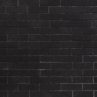Dikformaat 20x6,8x6cm strak zwart - 10,95 m2