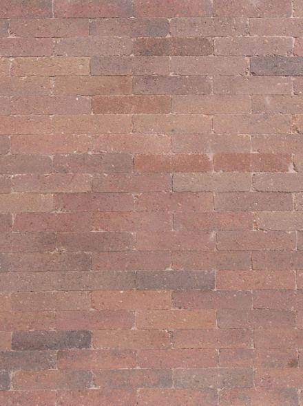 Waalformaat 20x5x7cm getrommeld brons genuanceerd - 9,6 m2