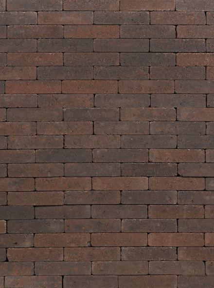 Waalformaat 20x5x7cm getrommeld bruin zwart - 9,6 m2
