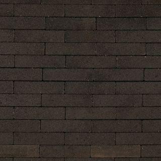 Waalformaat 20x5x6cm strak zwart - 10,08 m2