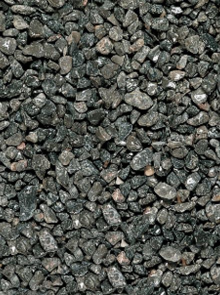 25 KG Tumbled Levanto zwart 30-60mm - 25 kg zak
