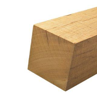 Bankirai hardhouten palen. 200 cm x 6,8 cm x 6,8 cm. Gepunt.