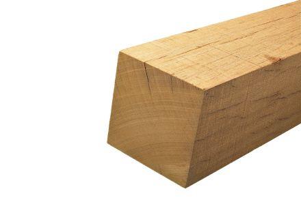 Bankirai hardhouten palen. 275 cm x 6,8 cm x 6,8 cm. Gepunt.