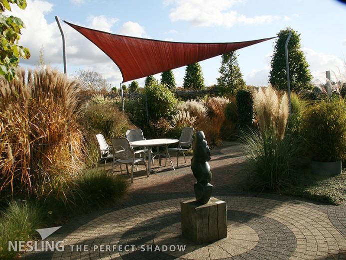 Coolfit schaduwdoek Driehoek 3,6 x 3,6 x 3,6m Terracotta