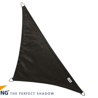 Coolfit schaduwdoek Driehoek 90°,  4 x 4 x 5.70m  Zwart