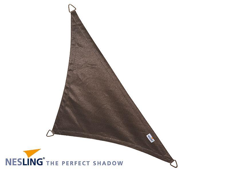 Coolfit schaduwdoek Driehoek 90°, 4 x 4 x 5.70m Antraciet