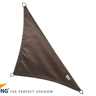 Coolfit schaduwdoek Driehoek 90°, 5 x 5 x 7.10m Antraciet