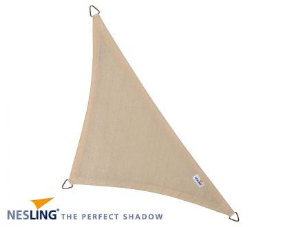 Coolfit schaduwdoek Driehoek 90°, 5 x 5 x 7.10m Gebroken Wit