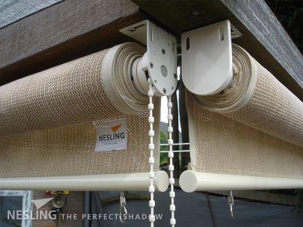 Rolgordijn breed 0,98 x 2,4 meter Zand (Nesling)