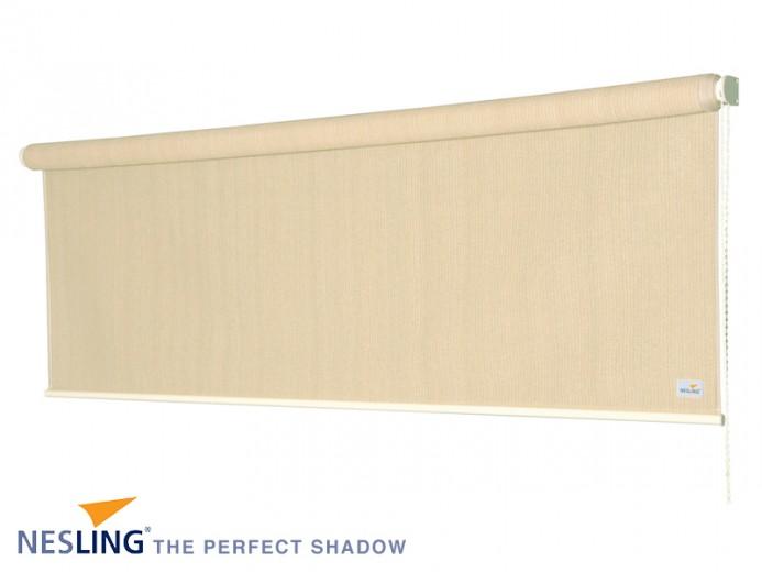 Rolgordijn breed 0,98 x 2,4 meter Gebroken Wit (Nesling)
