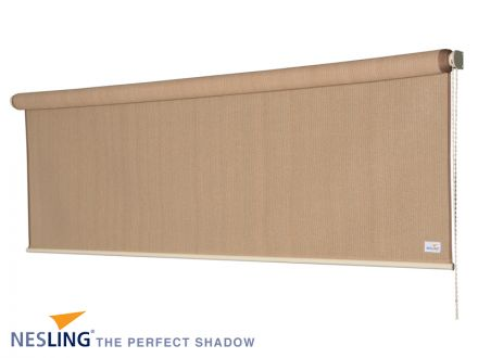 Rolgordijn breed 1,98 x 2,4 meter Zand (Nesling)