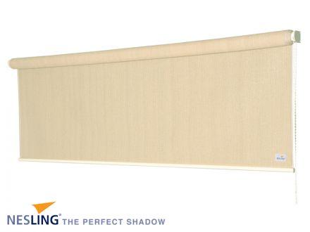 Rolgordijn breed 1,98 x 2,4 meter Gebroken Wit (Nesling)