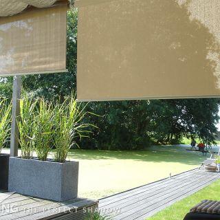 Rolgordijn breed 2,96 x 2,4 meter Zand (Nesling)