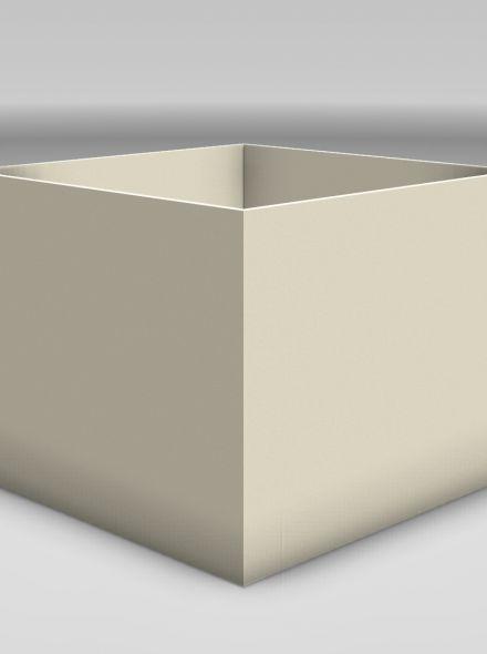 Lichtgewicht beton plantenbakken 80 cm breed x 80 cm hoog x 80 cm