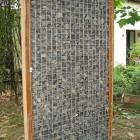 Steenschutting ( kant en klaar) 180 cm hoog x 180 cm lang x 9 cm dik