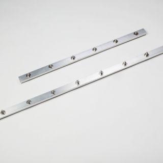 Toebehoren Paddenscherm HDPE aluminium verbindingsklemmen 70 cm