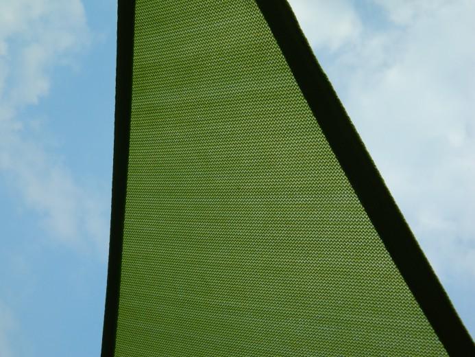 Schaduwdoek Nesling Coolfit Driehoek 3,6 x 3,6 x 3,6m, Lime groen