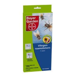 Bayer Vliegensticker(bloemmotief)  2 x 2 stuks / pak  /  art. 1060402