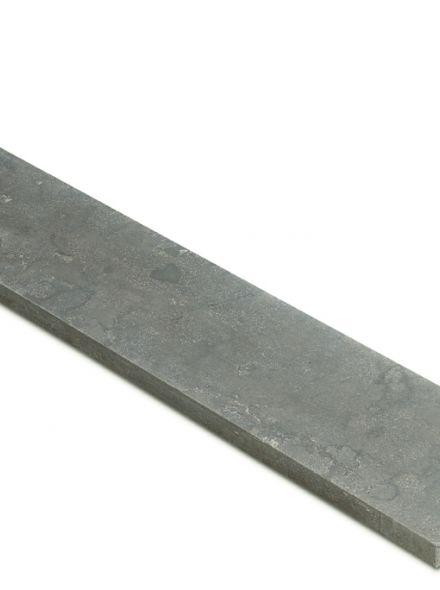 Hardstenen vijverrand 100 x 30 cm verzoet (Chinees hardsteen, Spotted Bluestone, Siam Bluestone)