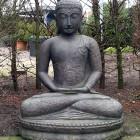 Zittende boeddha, 85 cm. (BS 8)