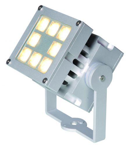 Spotpro powerspot zilver LED 20W (aanlicht spot 10-354620)