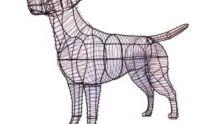 Honden figuren - mosdieren