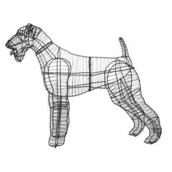 Airedale terrier 80 x 105 x 28 cm (Frame)