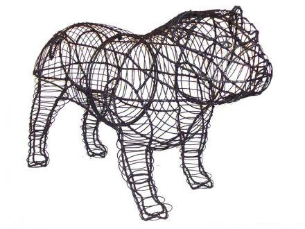 Bulldog 41x65x28 cm (frame)