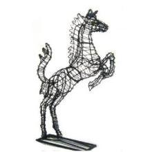 Paard Steigerend 100x61x20 cm (frame)