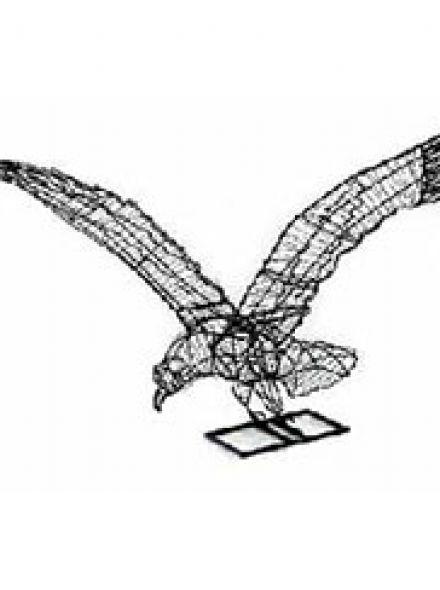 Arend vliegend 84x61x76 cm (frame)