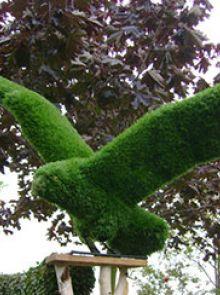 Arend vliegend 84x61x76 cm met mos
