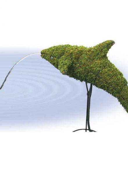 Dolfijn 84x91x43 cm met mos