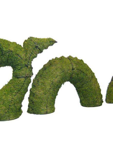 Monster van Loch Ness 96x137x36 cm  met mos