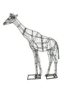 Giraffe 152x91x36 cm (frame)