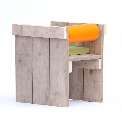 Houten stoel