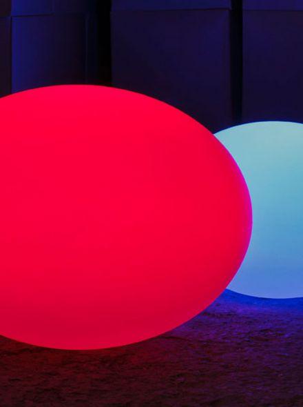 Draadloze tuinverlichting Flat Ball L