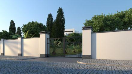 Tuinmuur - gestuct - licht gewicht - kant en klare tuinmuur - Platoflex muren