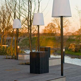 Buitenschemerlamp LICHTE – Mast met schroefanker  (Thermisch verzinkt)