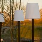 Buitenschemerlamp LICHTE – Mast met ankerpen  (Thermisch verzinkt)