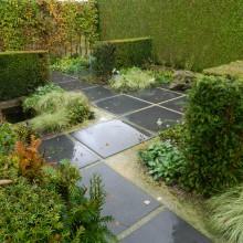 Terrastegels 100 x 100 cm antraciet - m2 (Flamestone, Siertegel beton)