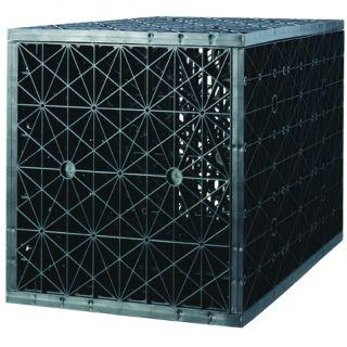 Infiltratiebox – Infiltratiekrat drievoudig 375 liter (voorkomen van wateroverlast in de tuin)