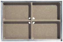 Schoonloperonderbak 100 x 50 x 8 cm (Easygarden, ACO artikel 00400)
