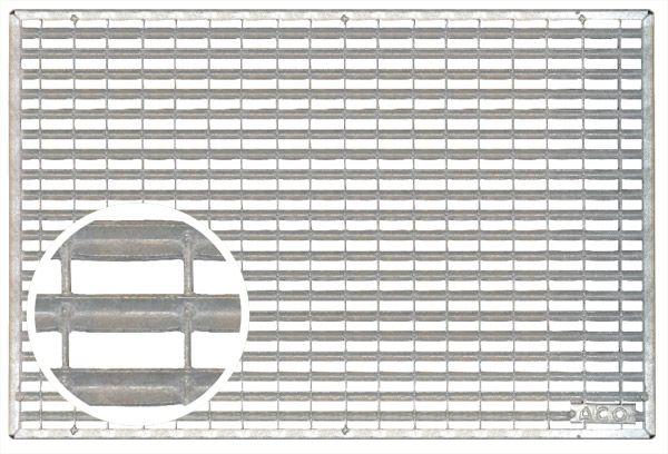 Schraapooster verzinkt staal 1000x500x20mm (Easygarden, ACO artikel 01209)