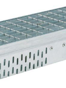 Glassline gootelement 1 meter RVS (gevelgoot ACO Easygarden artikelnummer 3814445)