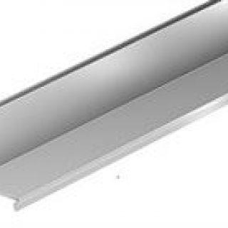 Slotline opzetstuk verzinkt Lengte 0,5 meter (ACO Easygarden sleufgoot artikelnummer 415848)