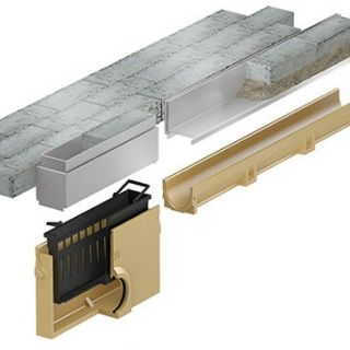 Slotline RVS inspectie (500mm) (ACO Easygarden sleufgoot artikelnummer 415835)
