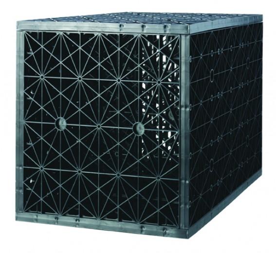 Infiltratiebox – Infiltratiekrat dubbel 250 liter  (voorkomen van wateroverlast in de tuin)